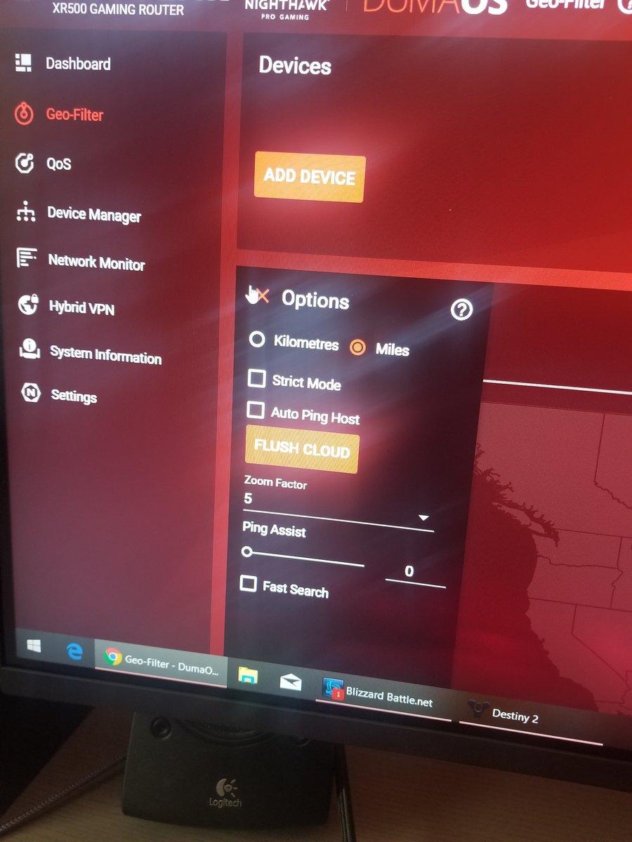 Lost connect - DumaOS on NETGEAR Nighthawk Support - Netduma
