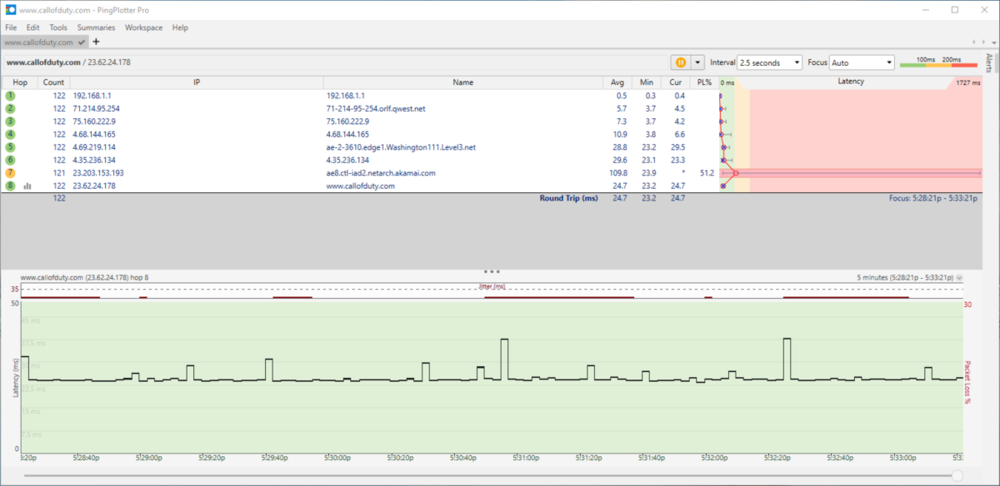 network adapter defult with ping test vod.PNG