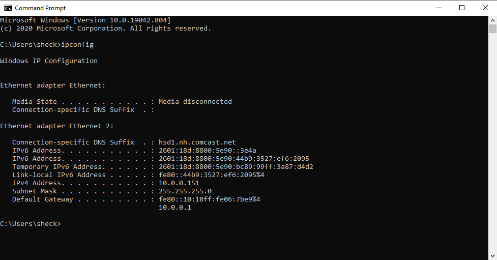 ipconfig without wan.PNG